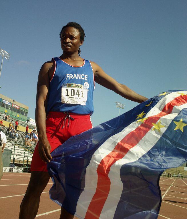 O atleta franco-cabo-verdiano Zé Boaventura