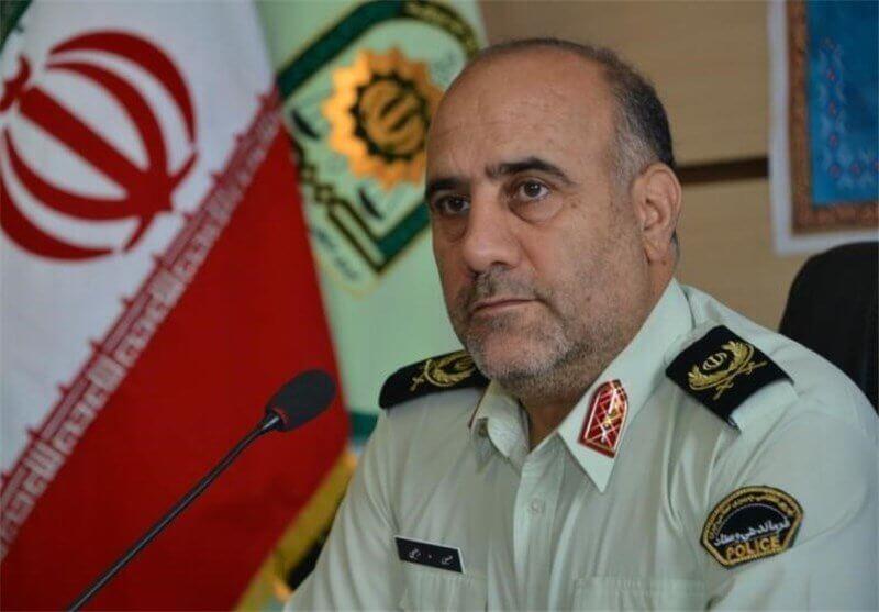 سردار حسین رحیمی رئیس پلیس تهران