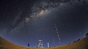Le désert d'Atacama, au Chili, où sera édifié le plus grand télescope du monde.