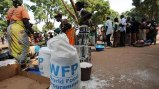 Les travailleurs du PAM sont actifs dans de nombreuses zones en conflit pour sécuriser un accès à l'alimentation (image d'illustration).