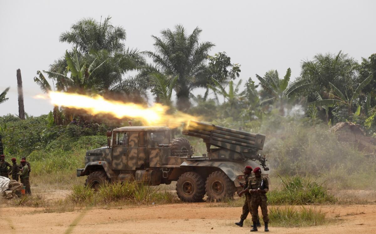 Jeshi la serikali FARDC wakipambana na waasi wa ADF NALU Mashariki mwa DRC