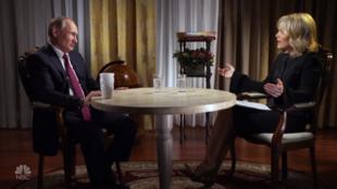 Кадр из интервью Мегин Кэлли для NBC.