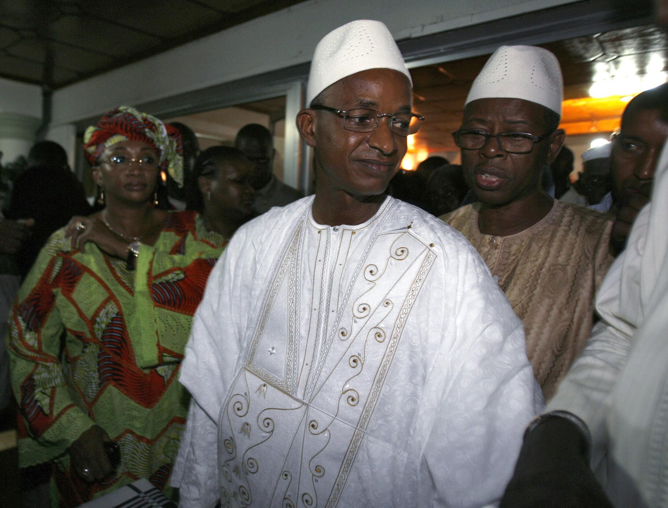 Presidential candidate Cellou Dalein Diallo