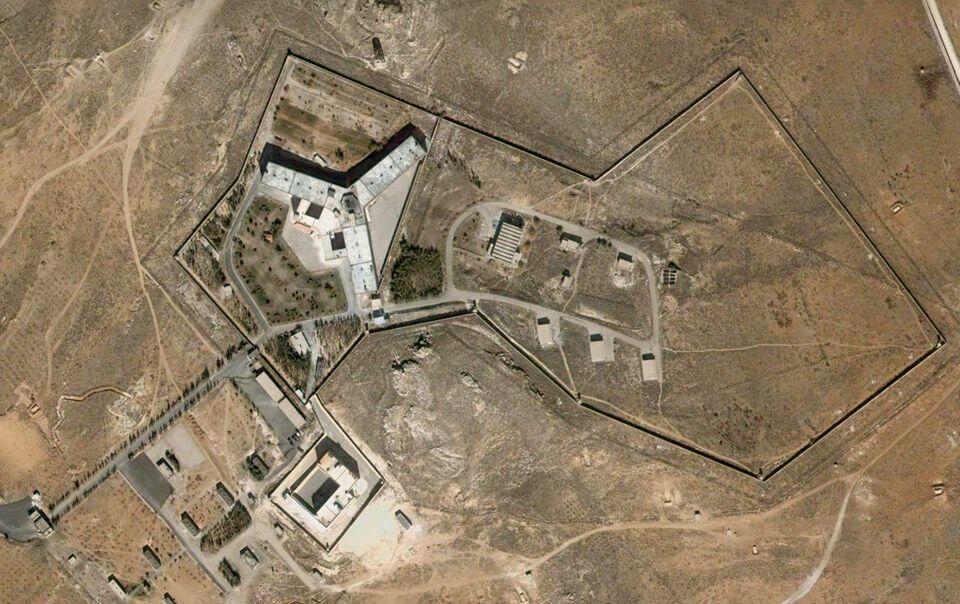 Тюрьма Сайедная  в пригороде Дамаска