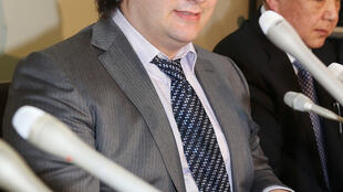 Mark Karpeles, former boss of MtGox, after his arrest
