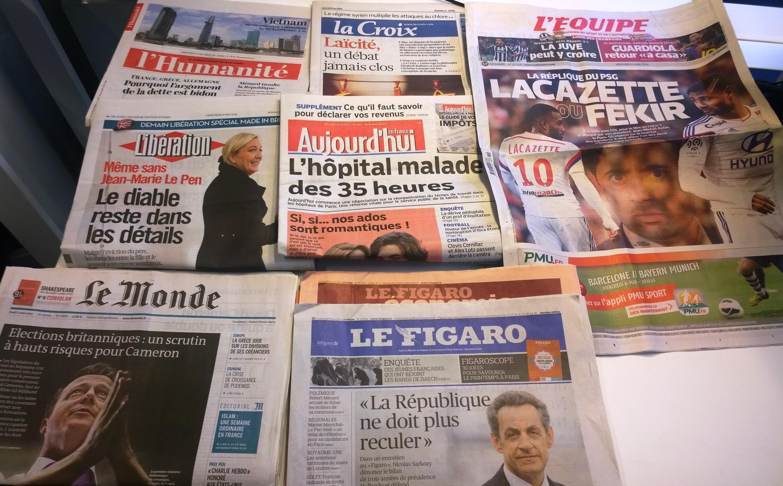 Diários franceses 06/05/2015