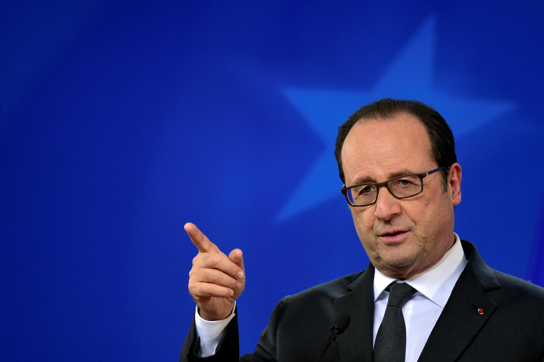Tổng thống Pháp François Hollande.