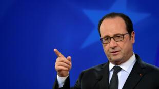 Le président français François Hollande (photo d'illustration).