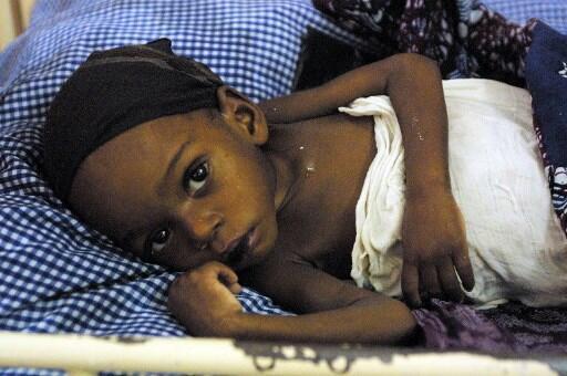 A fome tem vindo a afectar ciclicamente Angola (aqui em 2002).