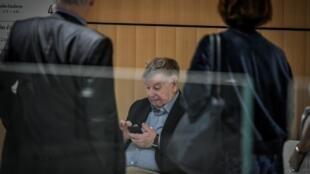 L'ex-PDG de France Telecom Didier Lombard, au palais de justice de Paris, le 4 juillet 2019.