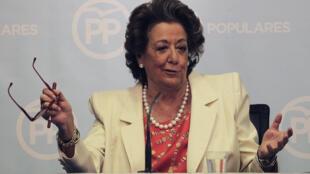 A ex-prefeita da cidade de Valência Rita Barberà
