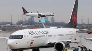 Avant la pandémie de coronavirus, Air Canada assurait 1500 liaisons par jour.