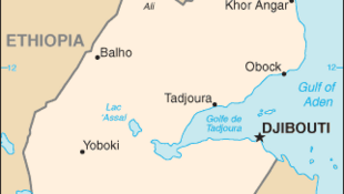 Map of Djibouti