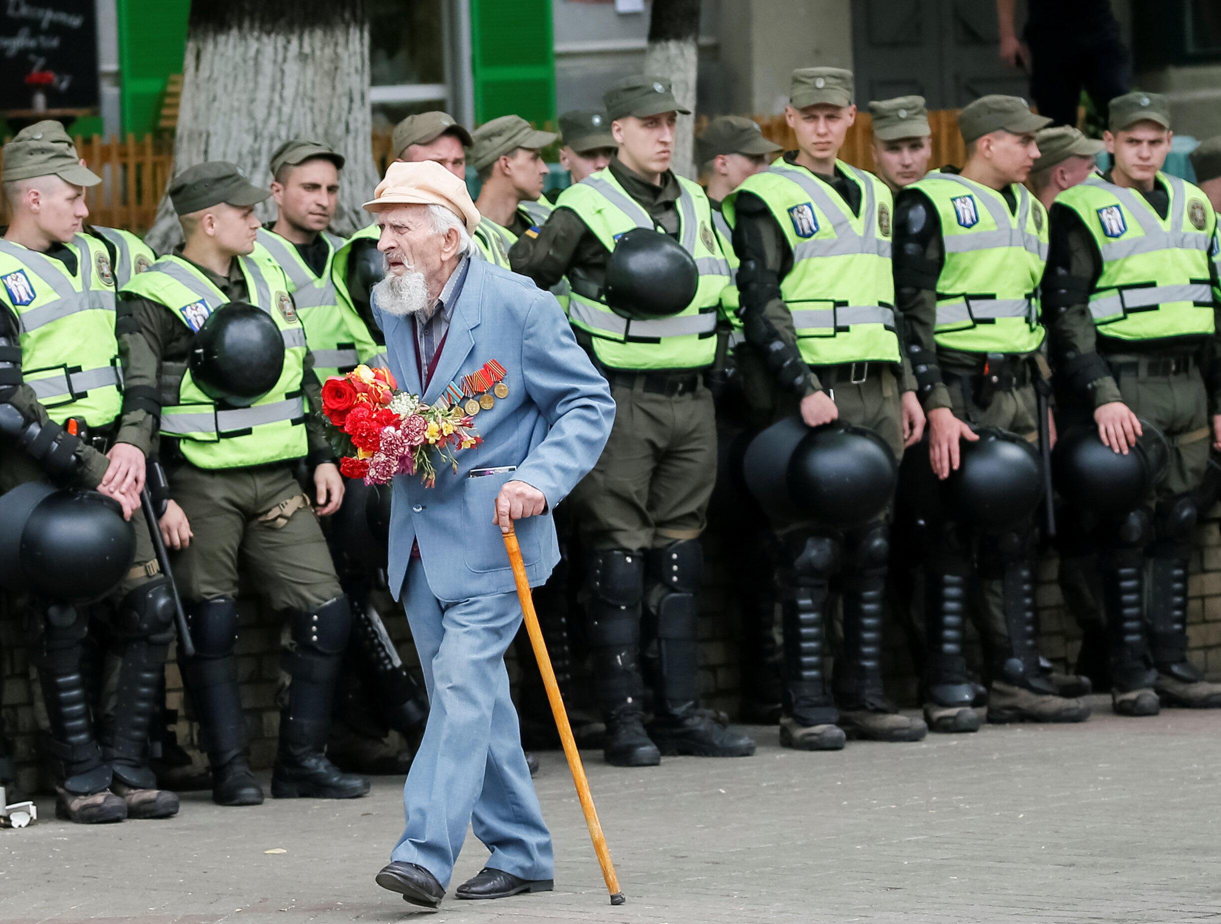 Киев, 9 мая 2018.