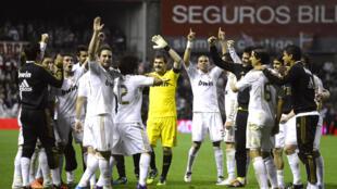 O Real Madrid sagrou-se, esta quarta-feira, campeão da Liga espanhola  de futebol
