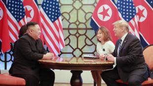 Shugaban Korea ta Arewa Kim Jon-un da Donald Trump na Amurka