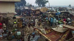 Personnes déplacées à Bangui, la capitale de la République centrafricaine.