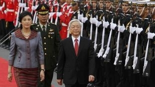 Lãnh đạo đảng Cộng sản Việt Nam và thủ tướng Thái tại Bangkok ngày 25/06/2013