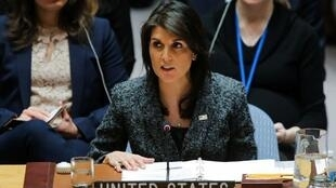 L'ambassadrice américaine à l'ONU Nikki Haley (photo d'illustration).