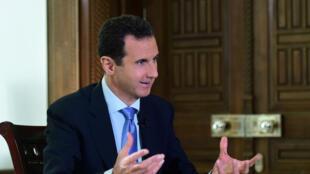 Ataques aéreos contra combatentes pró-iranianos no território da Síria de Bashar al-Assad, acusado por Israel de ser testa-de-ferro do Irão