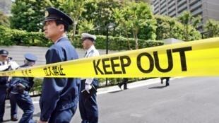 Sur les lieux d'un suicide à Tokyo (image d'illustration).