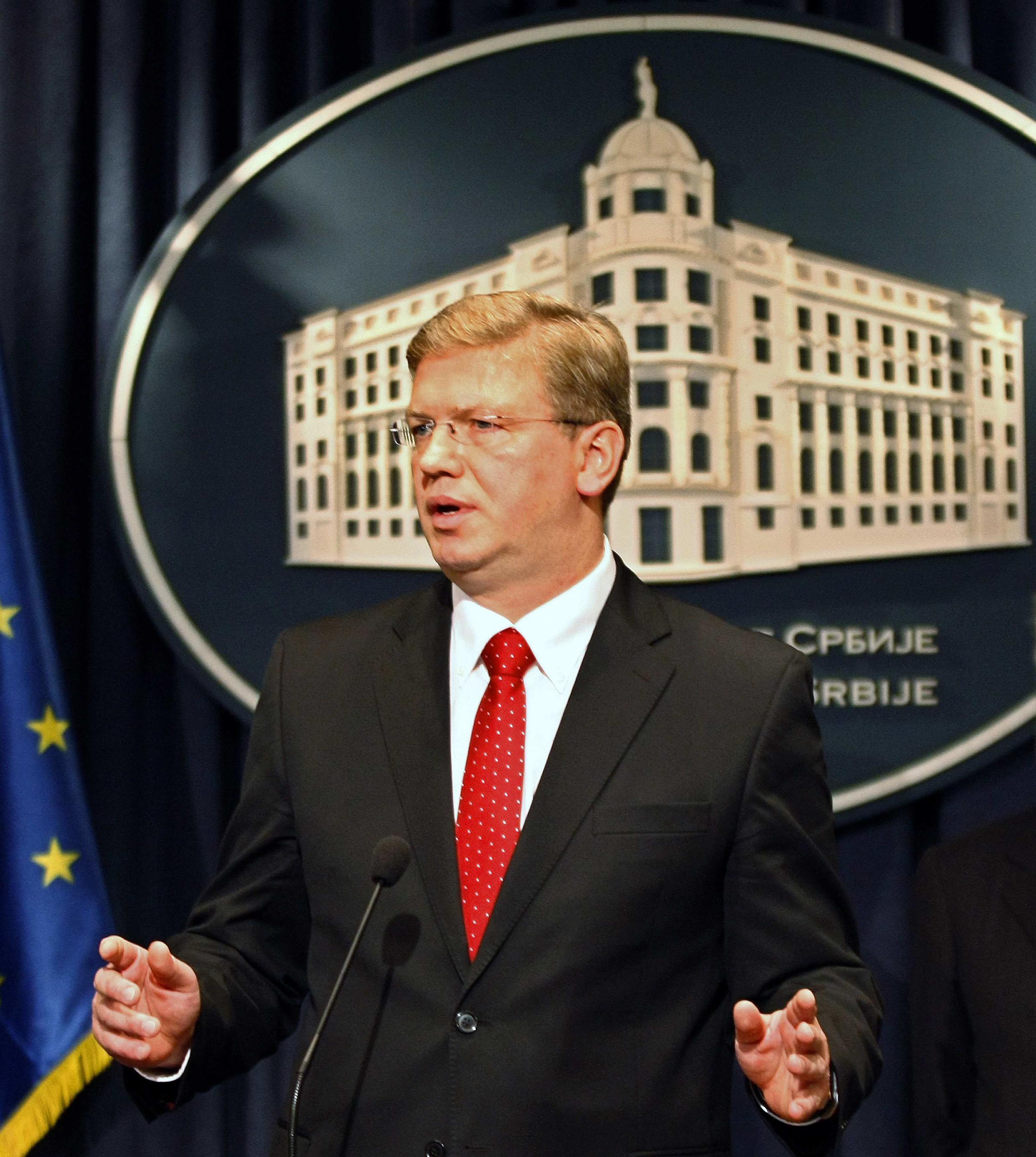 Commissaire européen à l'Elargissement, Stefan Füle