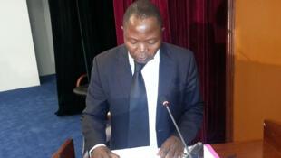 Tabuna Honoré, expert en valorisation de la biodiversité et de l'économie de l'environnement, CEEAC Libreville.