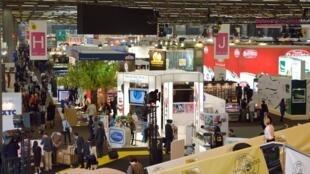 Salón Internacional de la Alimentación en Villepinte, cerca de París, el 21 de octubre de 2012.
