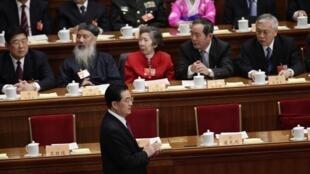 胡锦涛在中国全国政协会议上
