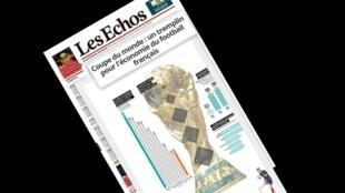 Reprodução de matéria publicada pelo jornal Les Echos nesta sexta-feira (13).