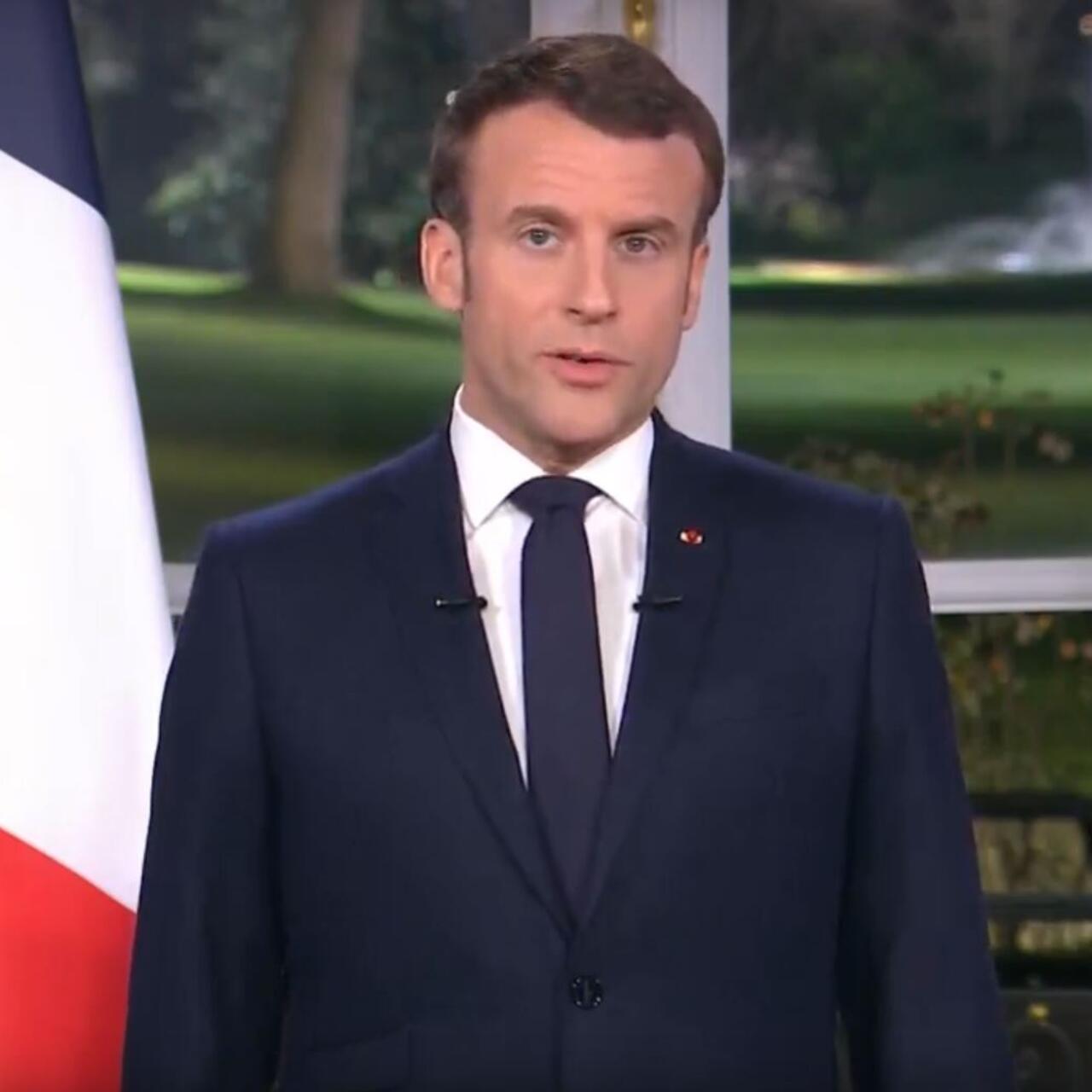 Franca Emmanuel Macron Reitera Decisao De Aplicar Reforma De Sistema De Pensoes Em Mensagem De Ano Novo
