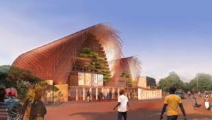 Au Burkina Faso, la salle de cinéma « Ciné Guimbi » à Bobo-Dioulasso.