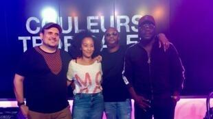 Julien Pestre, Céline Guillaume, Dosseh et Mix Premier.