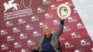 O cineasta Bernardo Bertolucci preside o júri da 70a Mostra de Veneza.