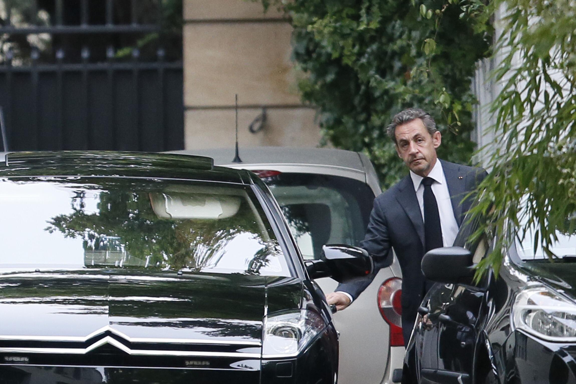 Nicolas Sarkozy, le 17 septembre 2014.