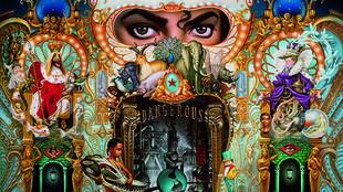Pochette de l'album «Dangerous» de Michael Jackson.