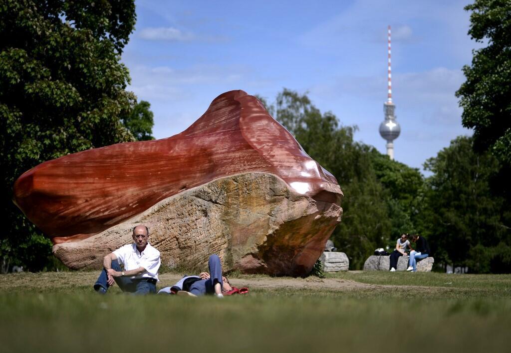 Le rocher Kueka du Venezuela dans le parc Tiergarten de Berlin, le 29 mai 2012.
