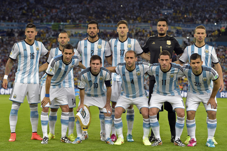 Le onze-type argentin lors de son premier match du Mondial brésilien face à la Bosnie-Herzégovine, le 15 juin 2014 à Rio.