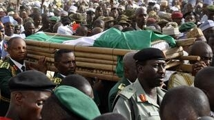 Thousands attended the funeral of President Yar'Adua