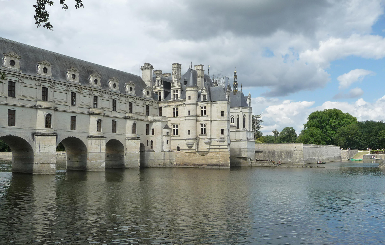 Castelo de Chenonceau, no vale do Loire.