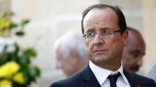 François Hollande à Malte, le 5 octobre 2012.
