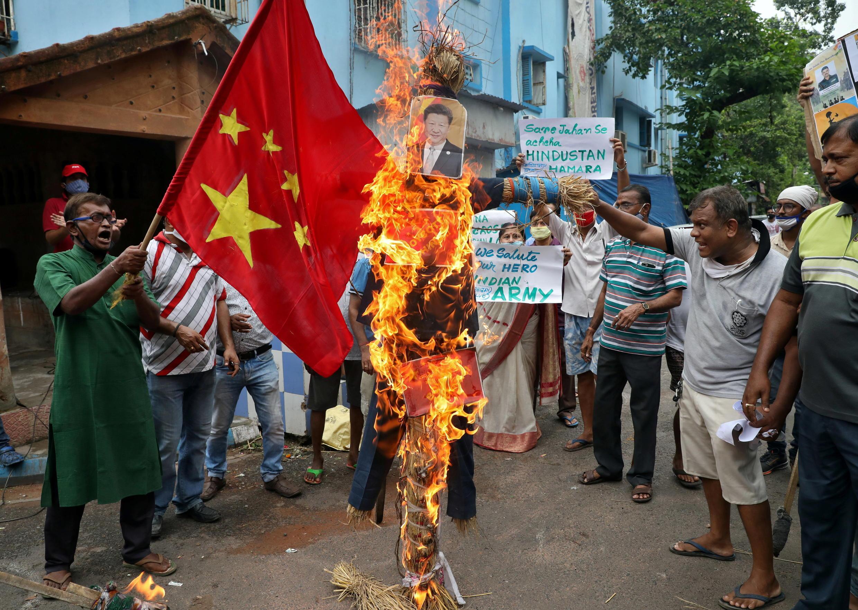 Inde - manifestation - Chine - conflit