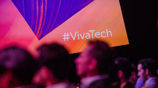 The VivaTech startup summit opens at the Porte de Versailles, 16 May 2019.