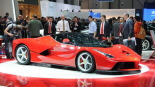 The hybrid technology is now used on the Ferrari 'LaFerrari'
