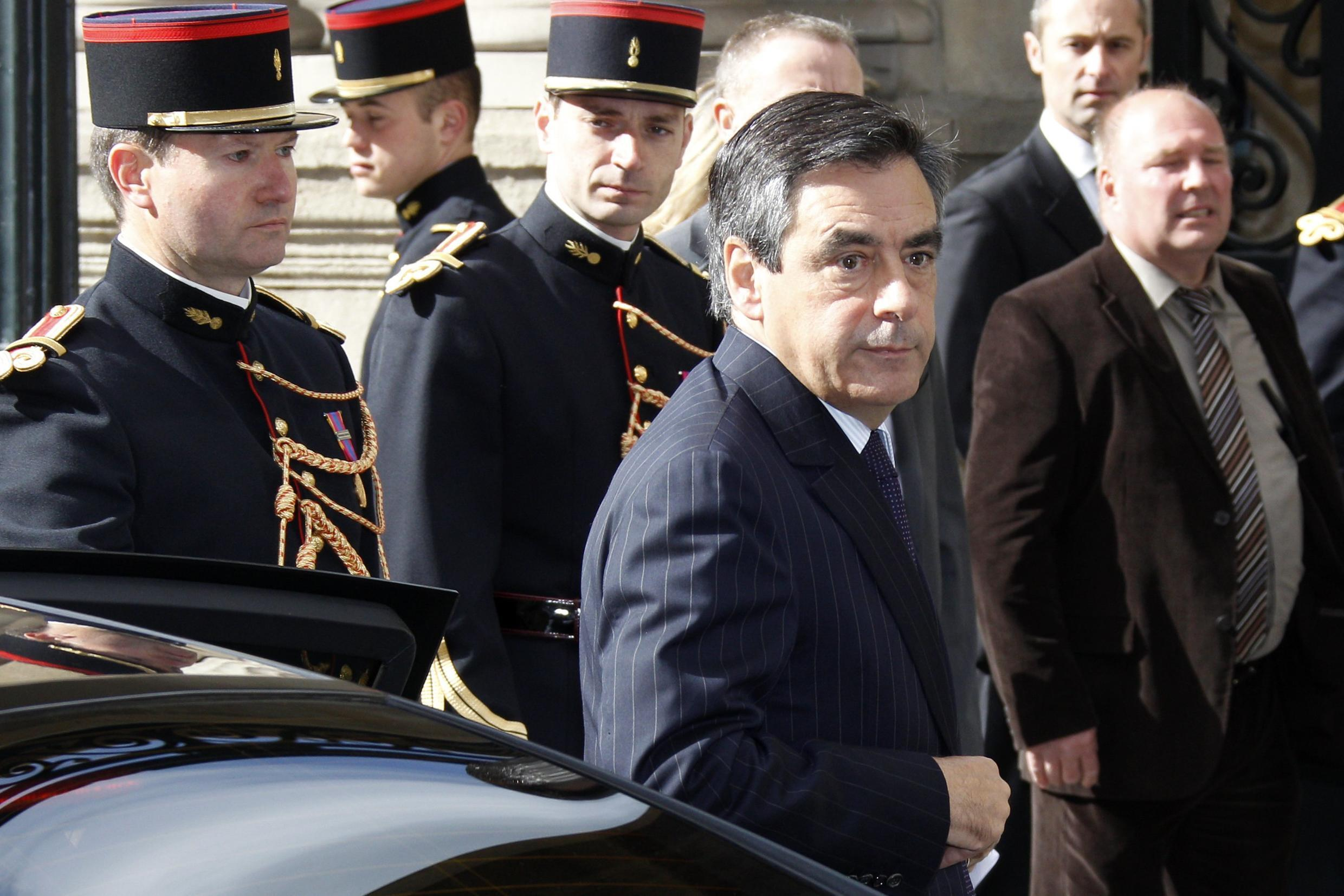 François Fillon prepares to hand over power to his Socialist successor Jean-Marc Ayrault