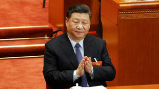 Chủ tịch Trung Quốc Tập Cận Bình trong buổi họp Quốc Hội ngày 08/03/2019 tại Đại Lễ Đường Nhân Dân, Bắc Kinh.