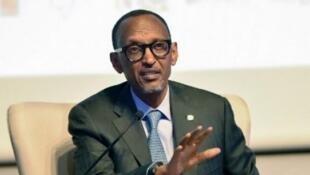 Le président rwandais Paul Kagame est en visite en France ce lundi et mardi (photo d'illustration).
