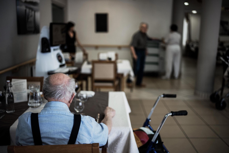 Foto ilustrativa. El drama de las casas de retiro en Europa, azotadas por la epidemia de coronavirus.
