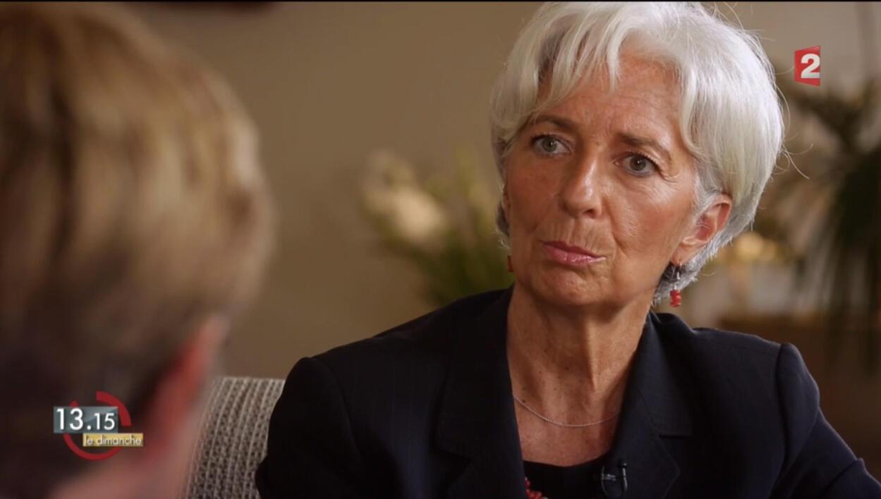 Christine Lagarde on French TV, 13 September 2015