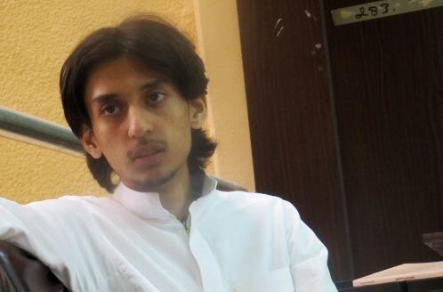 Nhà báo Ả Rập Xê Út Hamza Kashgari.